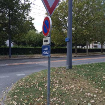 scellement de signalisation routière2
